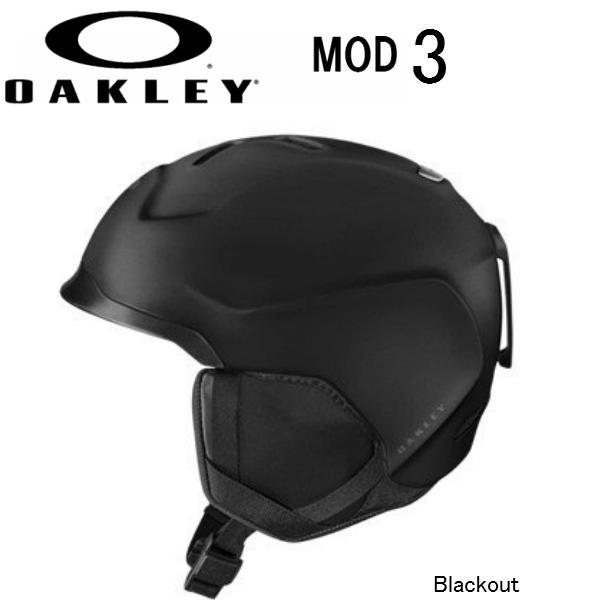 新到着 【お買物マラソン期間P10倍★最大37倍】オークリー OAKLEY スノー ヘルメット MOD3 BLACKOUT スキー スノーボード 2019, 愛される明月堂の博多通りもん a271bc5a