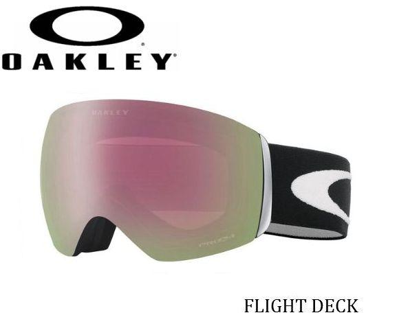 【お買物マラソン期間P5倍】OAKLEY Flight Deck MatteBlack W Prizm オークリー スノーゴーグル スキー スノーボード oo7074-25
