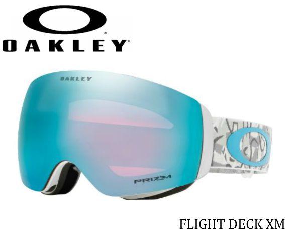 【OAKLEY】Flight Deck XM CamoVineSnow W Prizm オークリー スノーゴーグル スキー スノーボード oo7079-24
