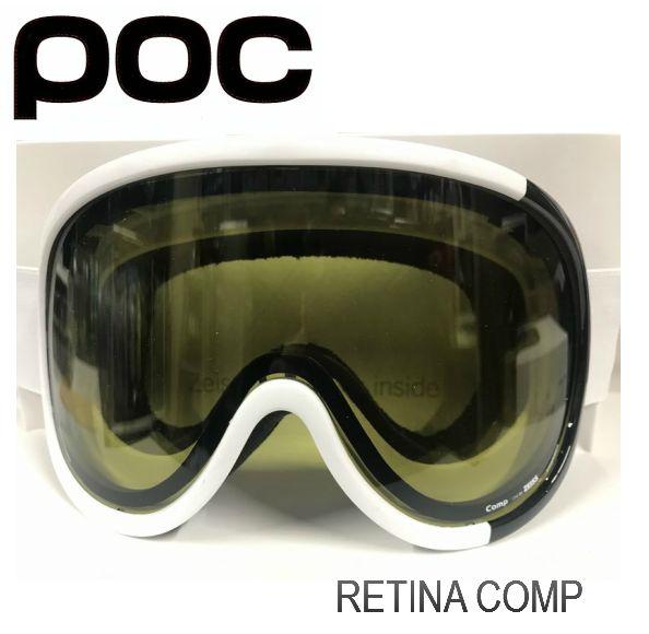 ポック POC RETINA Comp HydrogenWhite  スキー スノボ ゴーグル レティーナ コンプ