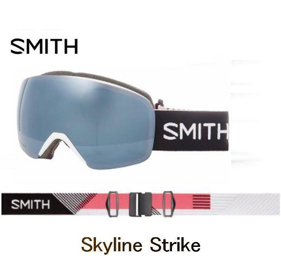 【お買物マラソン期間P5倍】SMITH スミス 2019 SKYLINE STRIKE アジアンフィット CP Sun Platinum Mirror ゴーグル