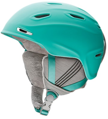 【お買物マラソン期間P5倍】ヘルメット【SMITH】2016/2017スミス☆ ARRIVAL Matte Opal アライバル スノーボード スキー スノボ ヘルメット 女性/Women