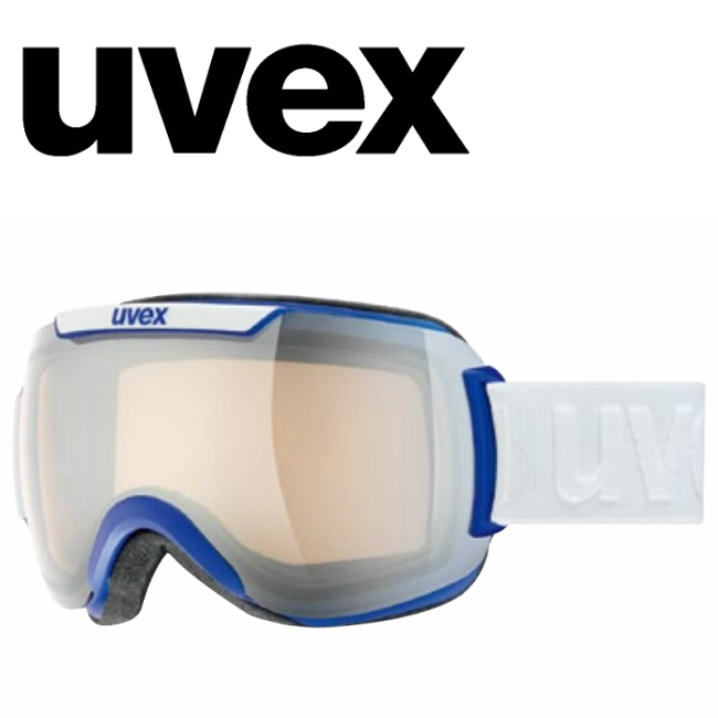 【お買物マラソン期間P5倍】【UVEX】ウベックスゴーグル downhill2000VLM コバルトブルーマット 色が変わる調光レンズ/球面レンズ/スキー/スノボ/スノーボード/送料無料