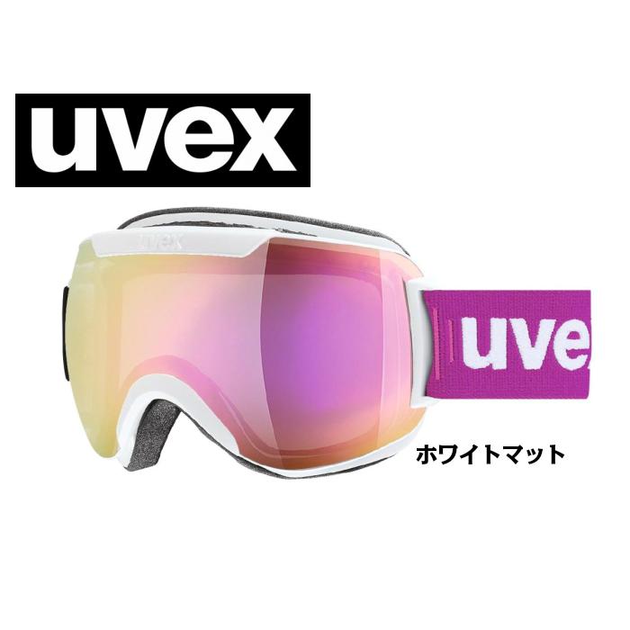 【お買物マラソン期間P5倍】UVEX ウベックス downhill 2000 FM ホワイトマット ゴーグル/球面ダブルレンズ/スキー/スノーボード