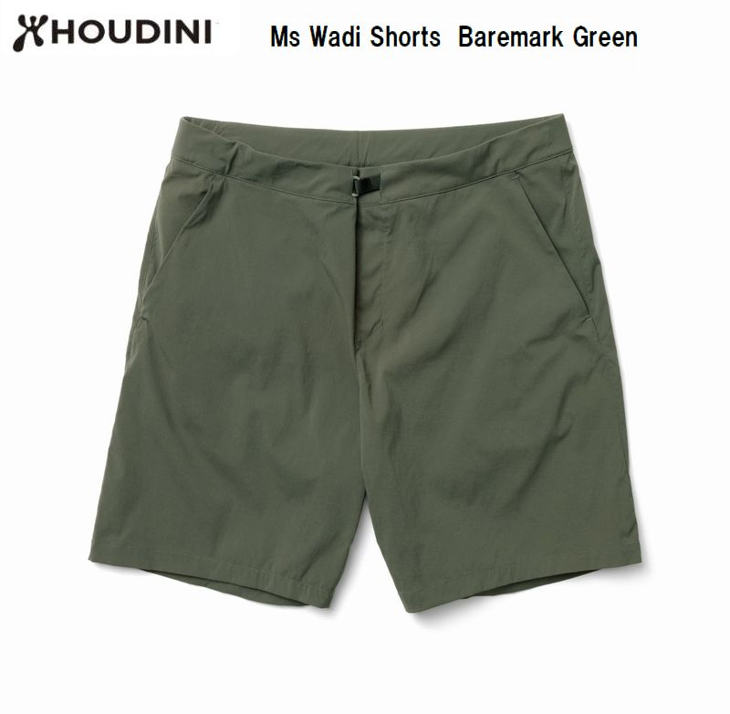 HOUDINI 通常便なら送料無料 フーディニ メンズ アウトドア 短パン M's Baremark Shorts 低価格 Wadi 174 ワディショーツ Green