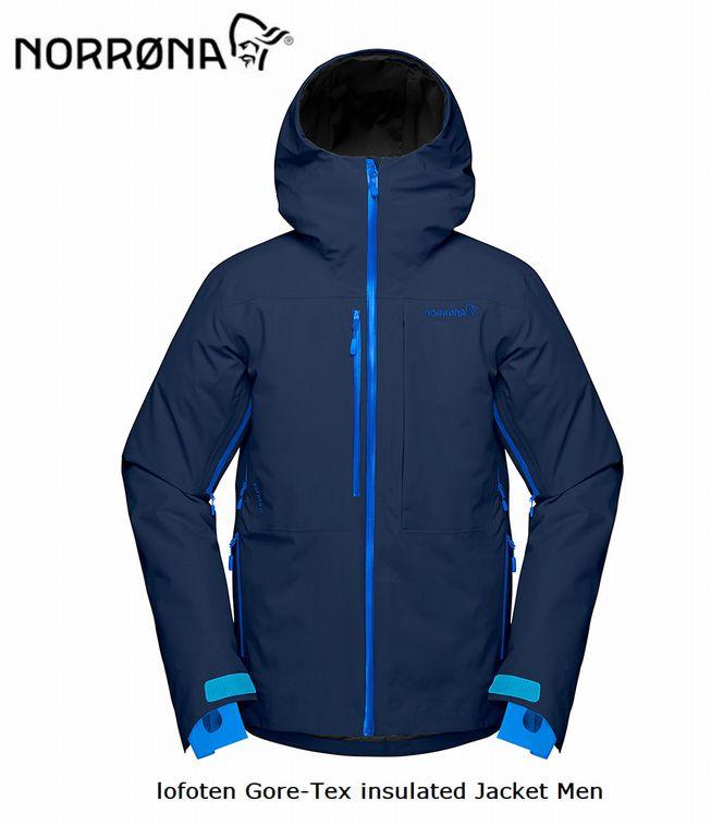 NORRONA lofoten Gore-tex insulaed Jacket Men IndigoNight メンズ ロフォテン ゴアテックス インサレーテッド ジャケット