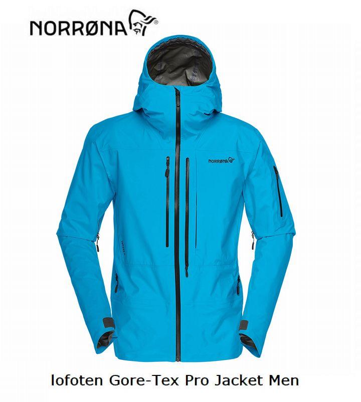 ノローナ NORRONA lofoten Gore-Tex Pro Jacket Men Blue Moon メンズ ロフォテン ゴアテックス プロ ジャケット
