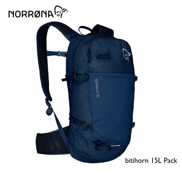 NORRONA bitihorn 15L Pack ビティホーン 15L パック トレッキング アウトドア バックパック IndigoNight