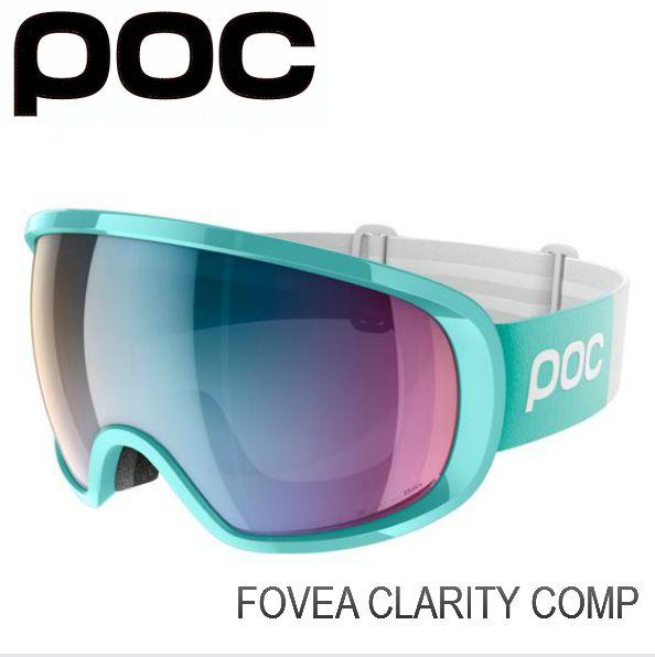 ポック POC Fovea Clarity Comp TinBlue  スキー スノボ ゴーグル フォーヴィア クラリティー 球面