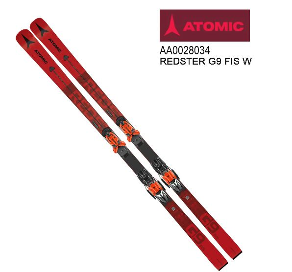 アトミック 2021 ATOMIC REDSTER G9 FIS W Red  レッドスター レーシング 板のみ 183cm 20 21