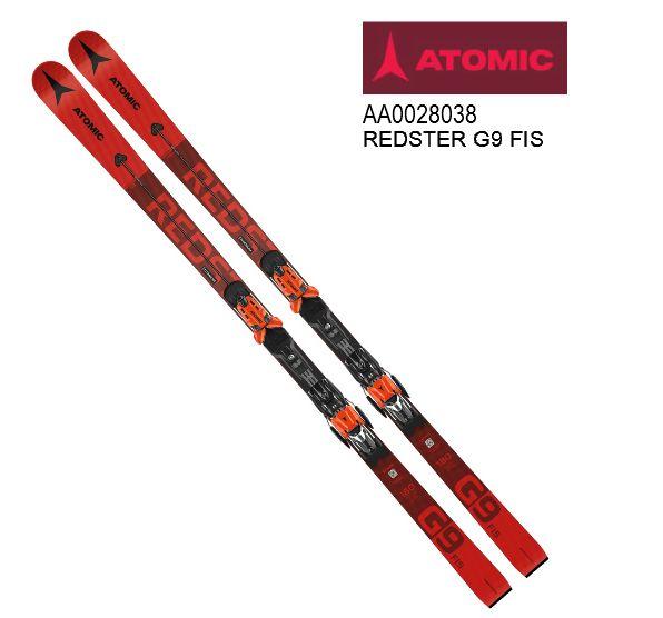 アトミック 2021 ATOMIC REDSTER G9 FIS Red  レッドスター レーシング 板のみ 187cm 20 21