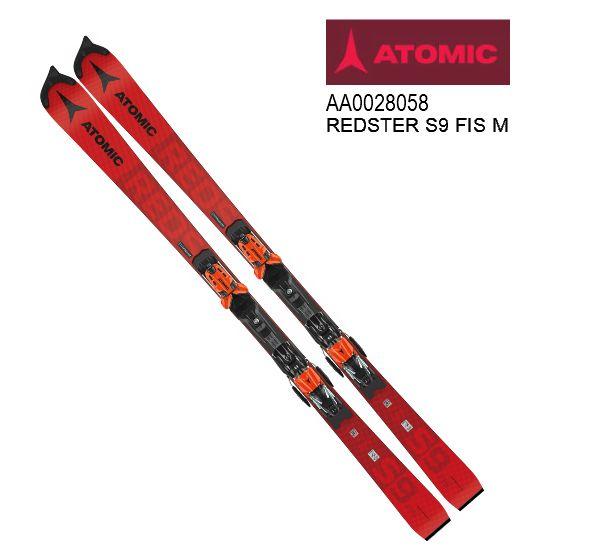 アトミック 2021 ATOMIC REDSTER S9 FIS M Red  レッドスター レーシング 板のみ 165cm 20 21
