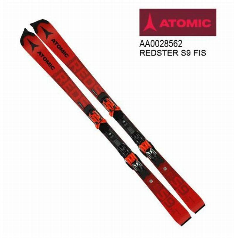 アトミック 2021 ATOMIC REDSTER S9 FIS Red  レッドスター レーシング 板のみ 155cm 20 21