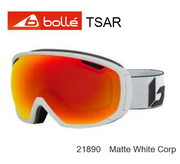 BOLLE 2020モデル ボレー スキー スノボ ゴーグル 球面 スーパーセール期間限定価格 球面レンズ White 2020 ゴーグルスキー 信憑 TSAR Matte Corp