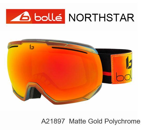 誕生日プレゼント BOLLE ボレー スキー スノボ ゴーグル JapanFit スーパーセール期間限定価格 ノースター ジャパンフィット マーケティング Polychrome Gold Matte NORTHSTAR