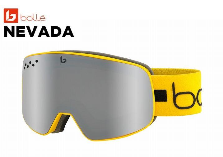 ボレー BOLLE NEVADA YELLOW LINE Black Chrome JP ボレー ゴーグル スキー スノボ
