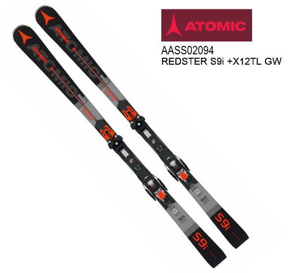 【お買物マラソン期間P5倍】2019 2020 ATOMIC REDSTER S9i + X 12 TL GW アトミック 金具付 DEMOモデル