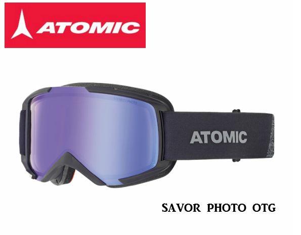 アトミック 2020 ATOMIC SAVOR PHOTOCHROMIC BlackPhotochromic OTG AN5105862  スキー スノーボード ゴーグル 眼鏡対応