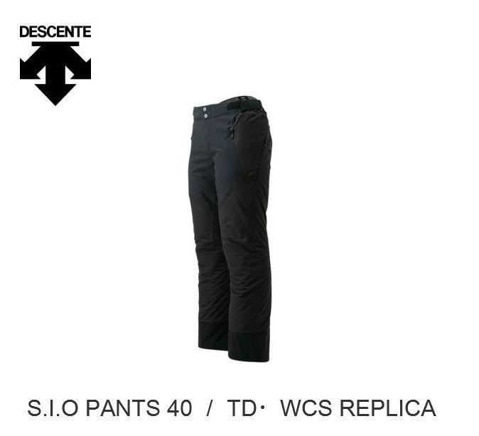 デサント 2020 DESCENTE DWUOJD52 S.I.O PANT 40 Black デサント スキーパンツ Lサイズ 即納品