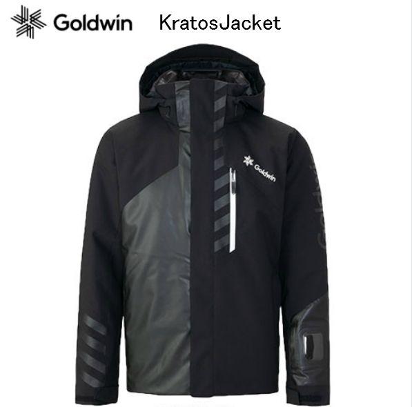 ゴールドウィン 2019 2020 GOLDWIN KRATOS JACKET G11925p Black Lサイズ ゴールドウイン スキーウエア ジャケット