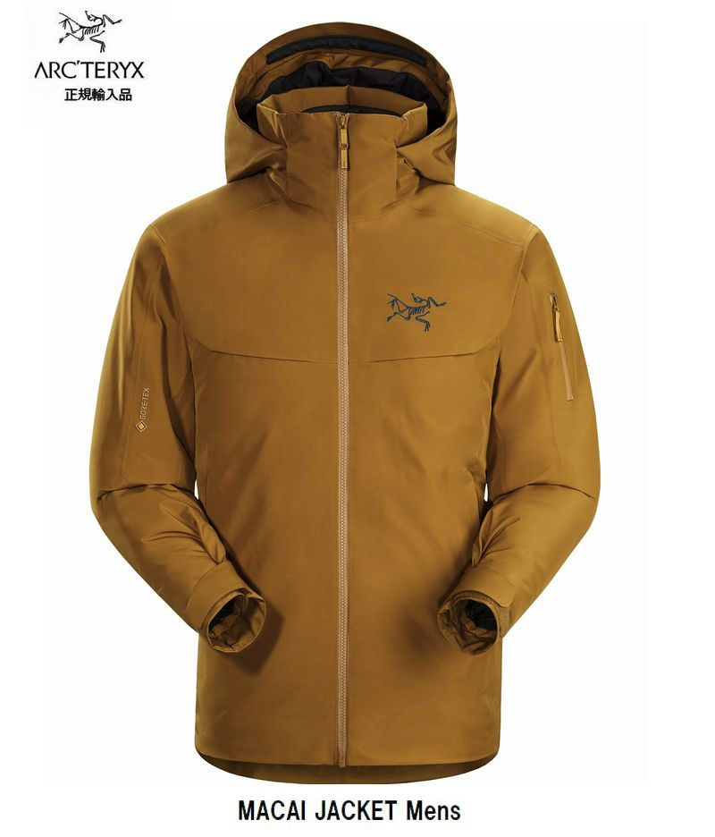 アークテリクス ARCTERYX Macai jacket Men's Yukon ダウンジャケット GORE-TEX マカイ ジャケット メンズ 正規輸入品