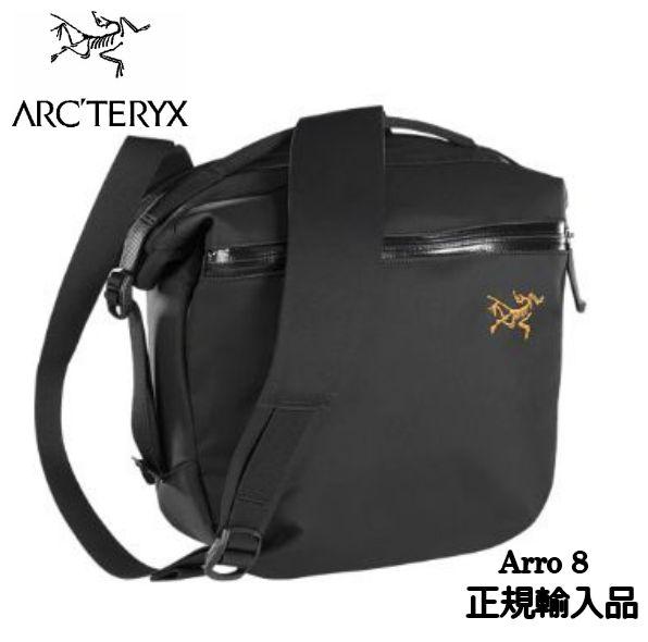 国内正規品 ARC'TERYX Arro 8 Shoulder Bag Black アークテリクス アロー8 ショルダー タウンユース 8L 正規輸入品