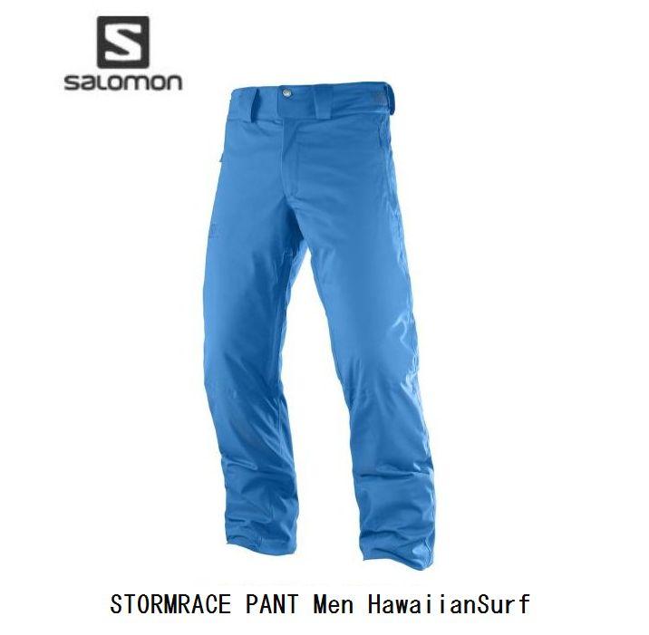 サロモン 2019 SALOMON STORMRACE PANT Mens L39737400 HawaiianSurf  ストームレース パンツ メンズ