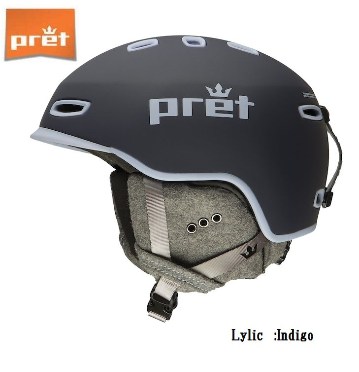 プレット 2020 Pret Lylic Indigo リリック スキー ヘルメット スノボ スノーボード