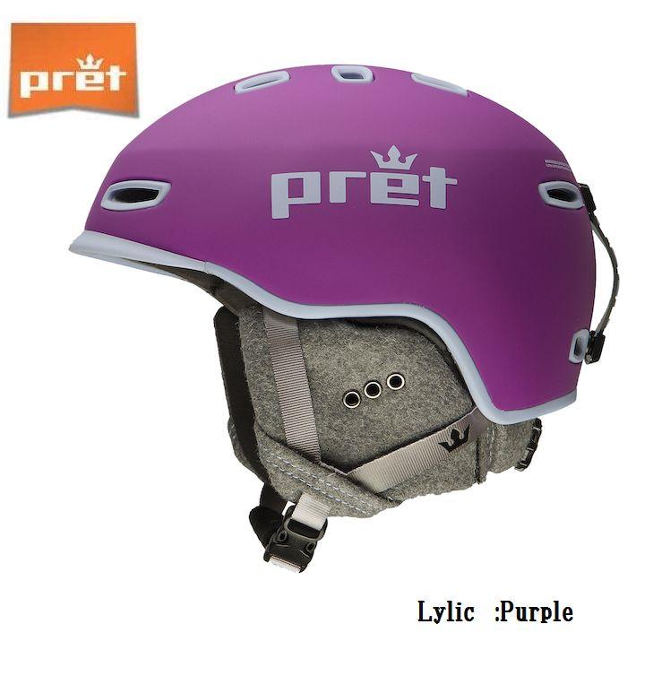 プレット 2020 Pret Lylic Purple リリック スキー ヘルメット スノボ スノーボード