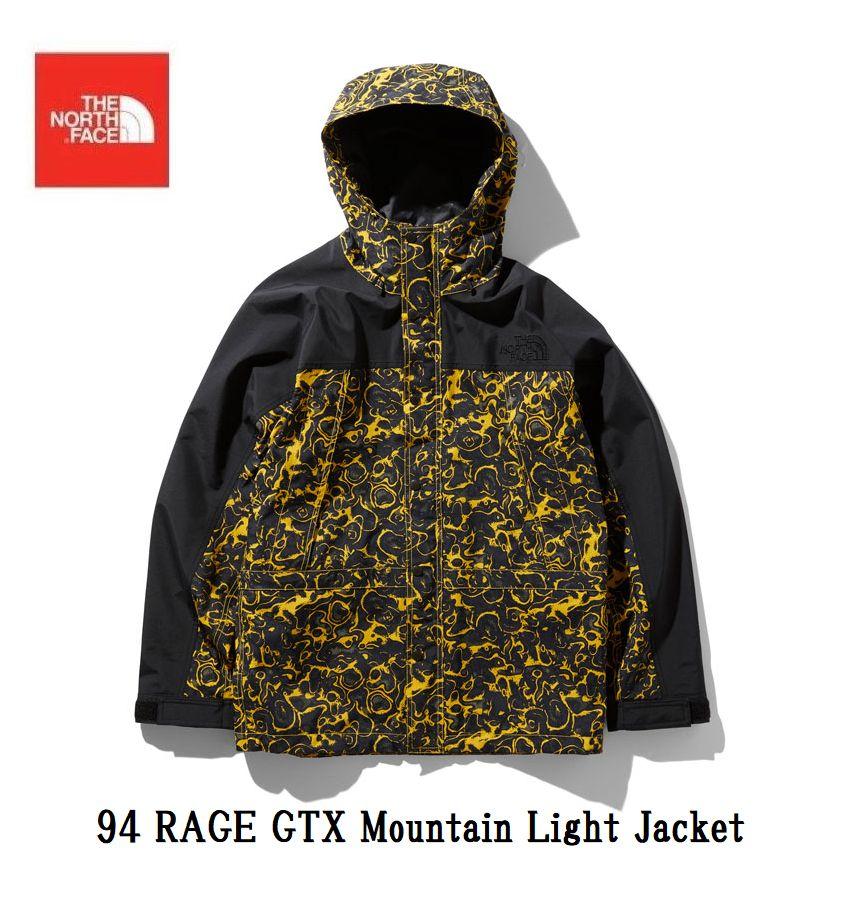 THE NORTH FACE 94 RAGE GTX Mountain Light Jacket ノースフェイス NP61960 LY 94レイジジーティーエックスマウンテンライトジャケット メンズ