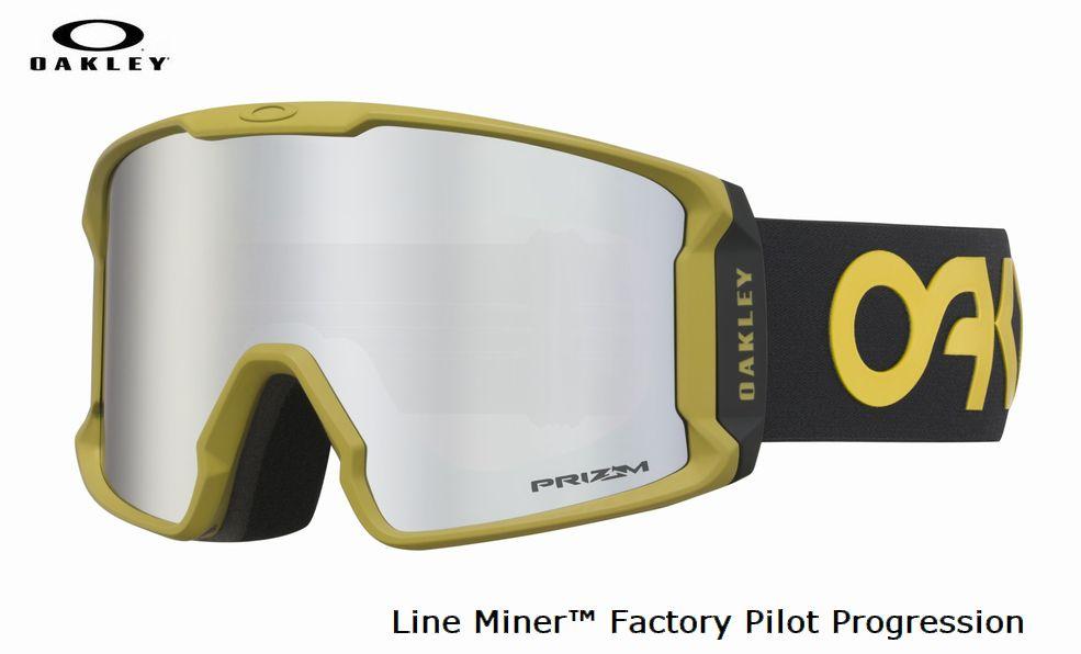 【お買物マラソン期間P5倍】2019 2020 OAKLEY Line Miner TM Factory Pilot Progression オークリー スノー ゴーグル 正規品