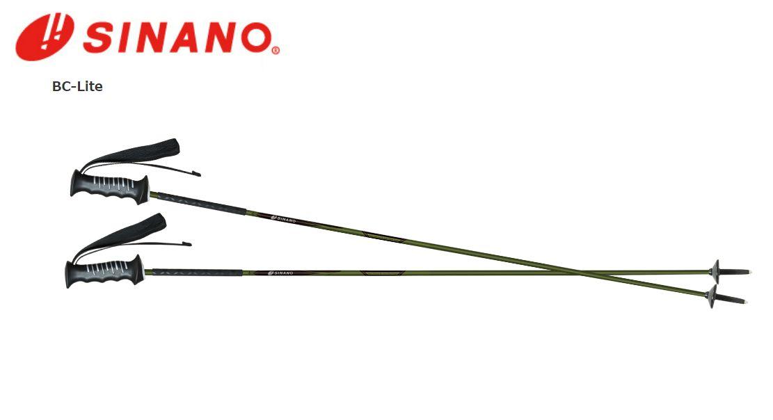 軽量 カーボンポール スキー ストック ポール 希少 BC 年末年始大決算 SINANO バックカントリー LITE シナノ スキーポール ライト