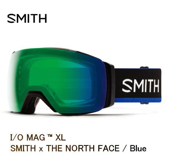 スミス 2020 SMITH I O MAG XL SMITH x THE NORTH FACE Blue  アーリーモデル ゴーグル スキー スノボ スノーボード