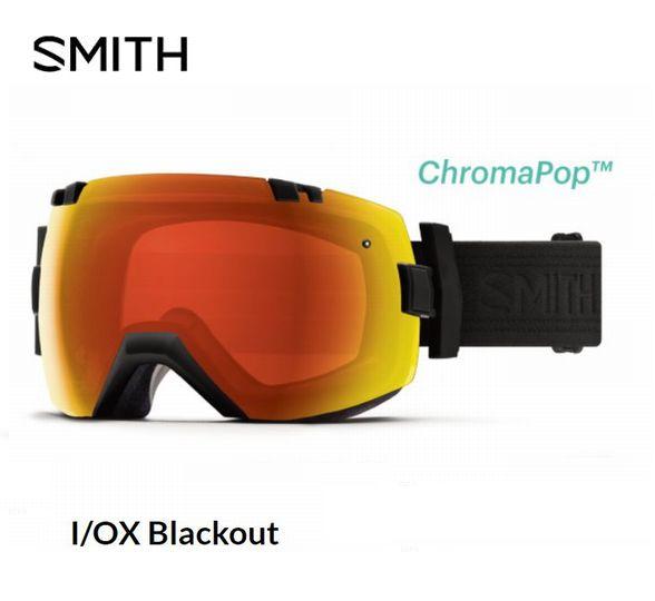 スミス 2020 SMITH I OX Blackout  アイオーエックス ゴーグル スキー スノボ スノーボード 調光