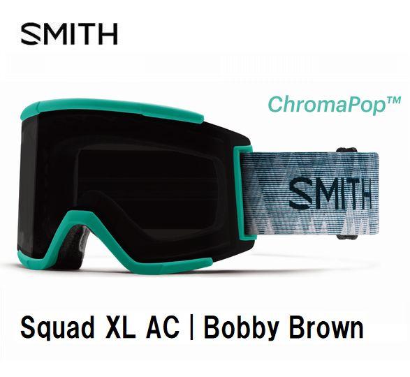 スミス 2020 SMITH Squad XL AC BobbyBrown  スカッド エックスエル ゴーグル スキー スノボ