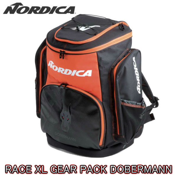 【お買物マラソン期間P5倍】2019 2020 NORDICA RACE XL GEAR PACK DOBERMANN ギアパック 送料無料 ブーツバック ドーベルマン