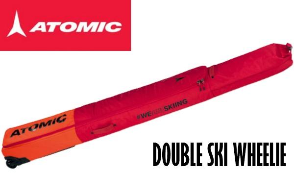 【お買物マラソン期間P5倍】2020 ATOMIC RS DOUBLE SKI WHEELIE アトミック スキーケース 2台用