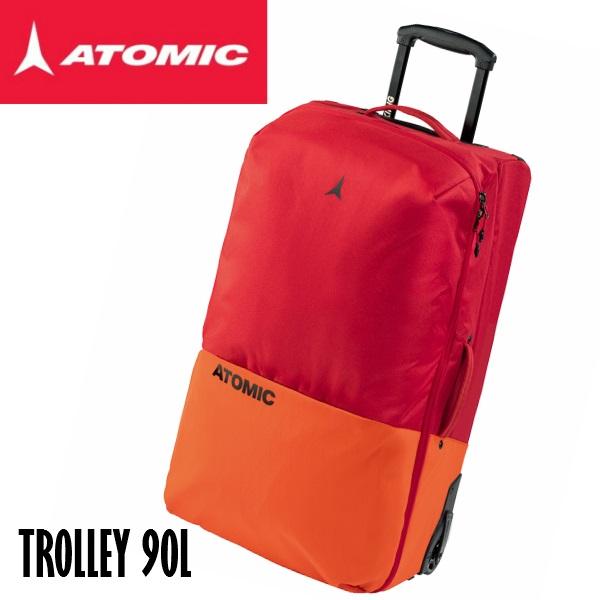 大型 トラベルバック【ATOMIC】アトミック TROLLEY 90L スキー/キャスター付き/バック/2018