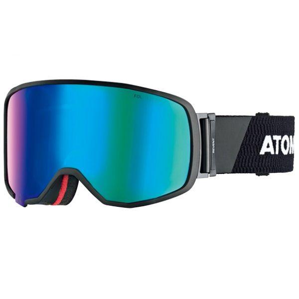 【お買物マラソン期間P5倍】スキー ゴーグル ATOMIC アトミック REVENT L RS FDL HD BLACK/White スノボ スノーボード