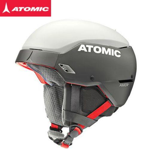 2018/2019 ATOMIC COUNT AMID RS BlackWhite アトミック スキー ヘルメット 軽量 ワールドカップスラローム