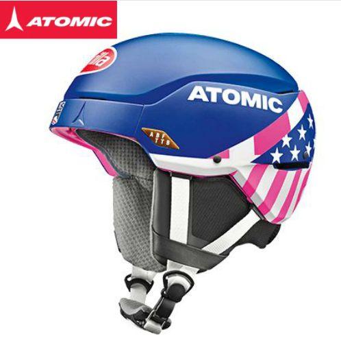 【スーパーセール大特価】2018/2019 ATOMIC COUNT AMID RS Mikaela アトミック スキー ヘルメット 軽量 ワールドカップスラローム