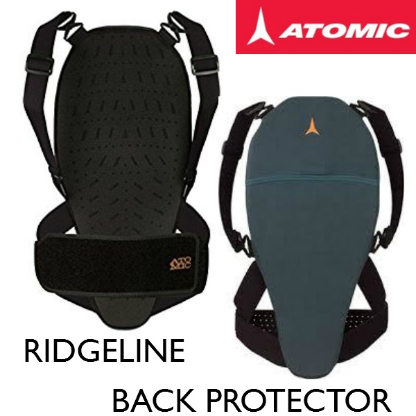 ATOMIC アトミック RIDGELINE BACK PROTECTOR スキー/バックプロテクター/メンズ/レディス XS/S/M/L/XL 脊髄プロテクター