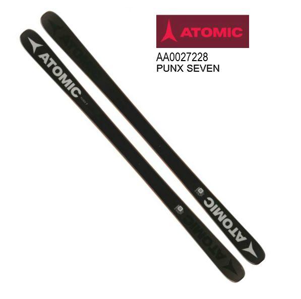 アトミック 2019 ATOMIC PUNX SEVEN パンクス 7 パンクスセブン PUNX 7 スキー 板のみ パーク