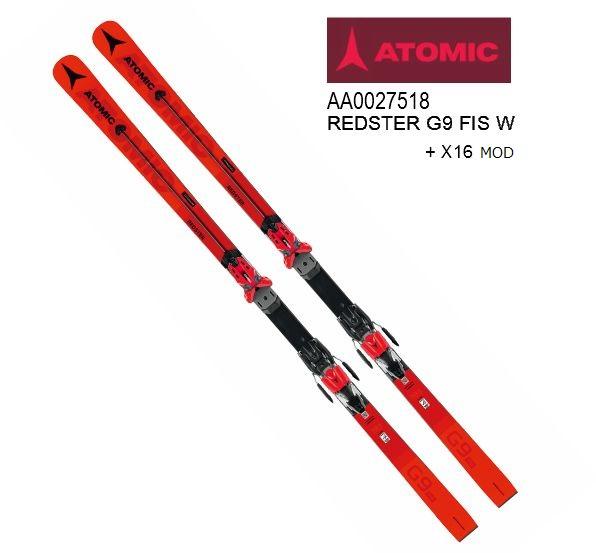 アトミック 2020 ATOMIC REDSTER G9 FIS W 183cm +X16MOD  レッドスター