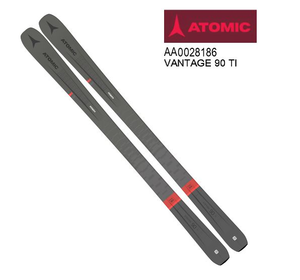 アトミック 2020 2021 ATOMIC VANTAGE 90 TI GreyRed  板のみ パウダー 20 21