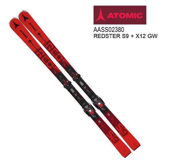 アトミック 2021 ATOMIC REDSTER S9 + X12 GW  レッドスター スキー板 セット 20 21 金具付