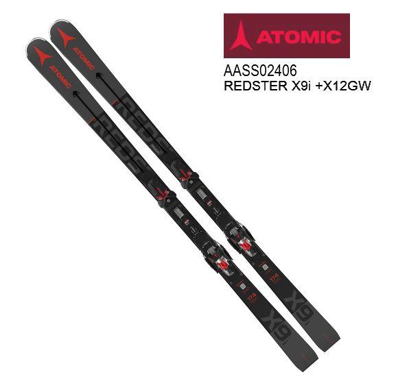 アトミック 2021 ATOMIC REDSTER X9i + X12 GW  レッドスター スキー板 セット 20 21 金具付