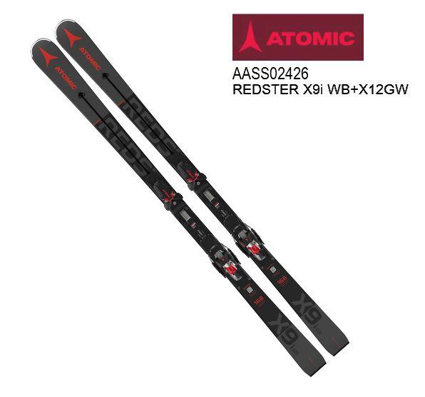 アトミック 2021 ATOMIC REDSTER X9i WB + X12 GW  レッドスター スキー板 セット 20 21 金具付