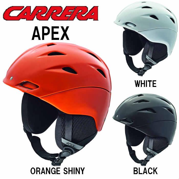 【お買物マラソン期間P5倍】送料無料【CARRERA】カレラ スノー ヘルメット APEX   スキー スノボ スノーボード ヘルメット