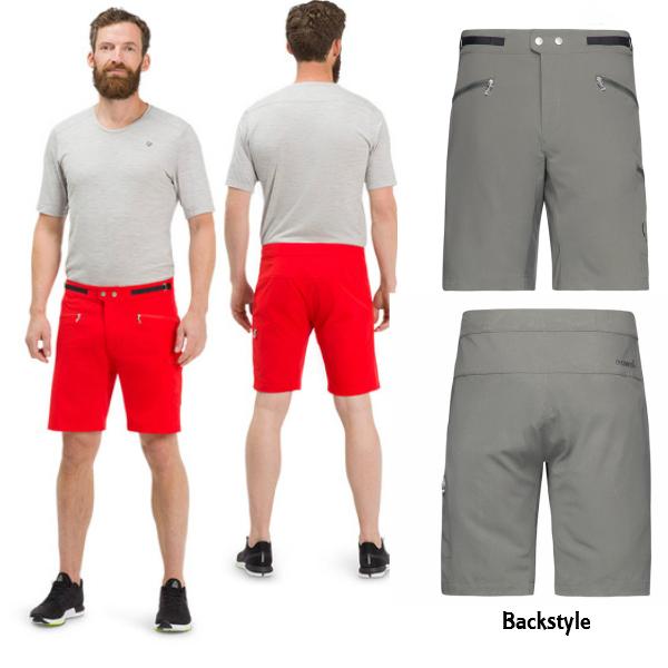 【お買物マラソン期間P5倍】【NORRONA】bitihorn flex1 Shorts Men メンズ ビティホーン フレックス1 ショーツ CastorGrey スキー スノボ パンツ